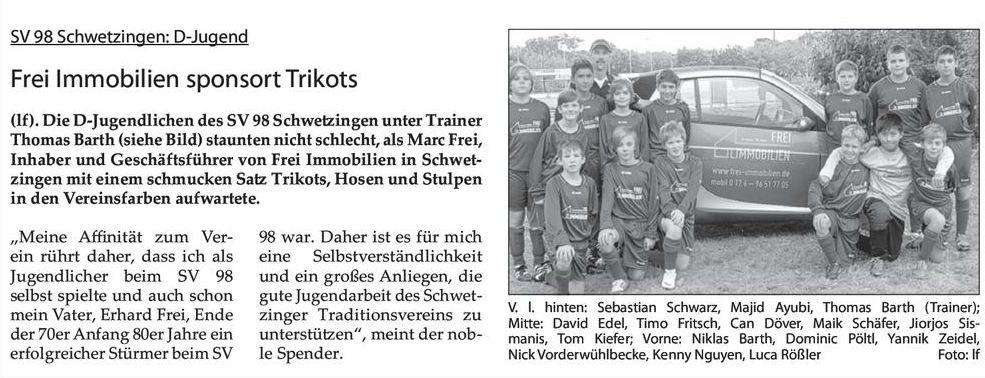 Schwetzinger Woche 19.09.2012