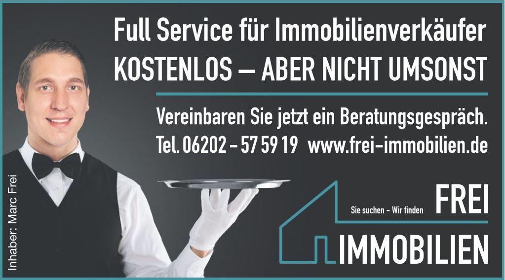 Full Service für Verkäufern