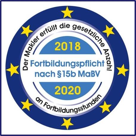Erfüllte Fortbildungspflicht 2018 - 2020